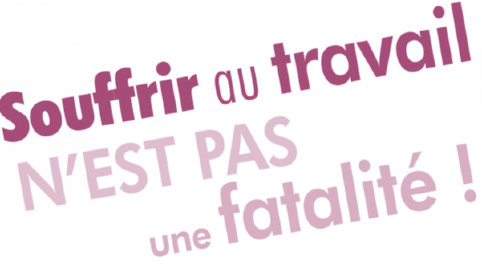 """Résultat de recherche d'images pour """"IMAGE SOUFFRANCE AU TRAVAIL"""""""
